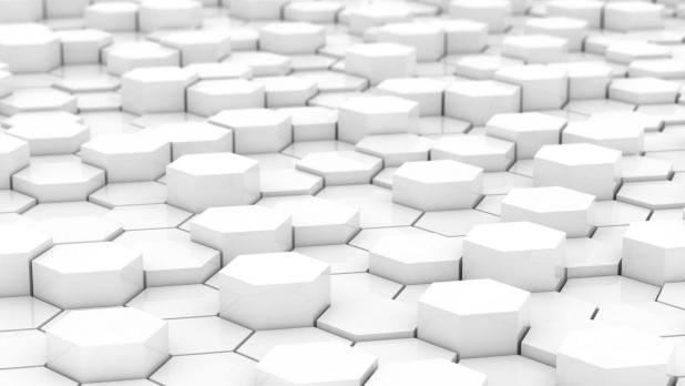 1920 × 1080 Hexagon White background 1920 × 1080