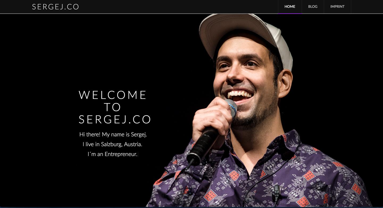 sergej.co - webseiteBAUER.com - Webdesign aus Salzburg