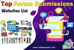 Top Forum Submissions Sites List