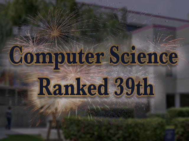 FIU SCIS Ranked 39th in Computer Science
