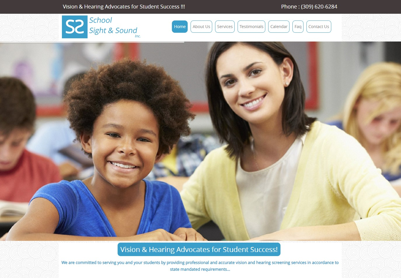 School Sight And Sound Audio And Vision Screening Peoria