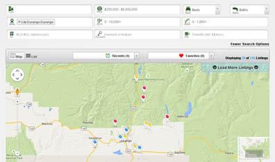 VisualIDX Map Search