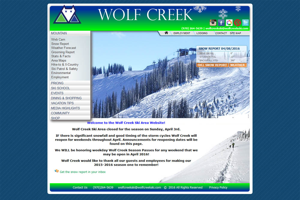 Wolf Creek Ski Resort