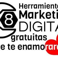 8 Herramientas de marketing digital gratuitas que te enamorarán