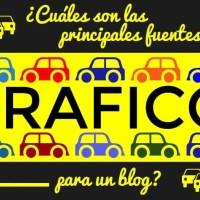 ¿Cuáles son las principales fuentes de tráfico para un blog?