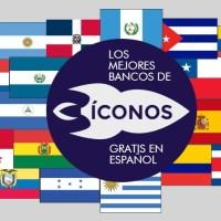 Los mejores bancos de íconos gratis en español
