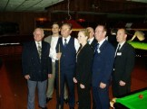 WEBSF Launch Day Management Team with Ray Reardon MBE