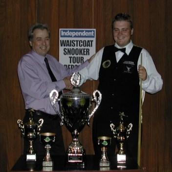 Gold Waistcoat Tour Overall Runner-up 2004-5