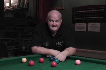 Johnny Watters - WOE Open Snooker Plate Winner 2015