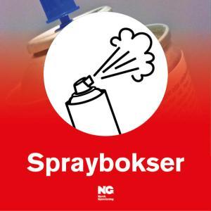 KLebemerke Spraybokser