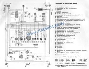 Connection diagram 500 F, copy, size A3  Fiat 500, 126