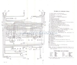 Connection diagram, 500 Giardiniera, copy, size A3 Fiat 500 Giardiniera  Fiat 500 126 600 spare