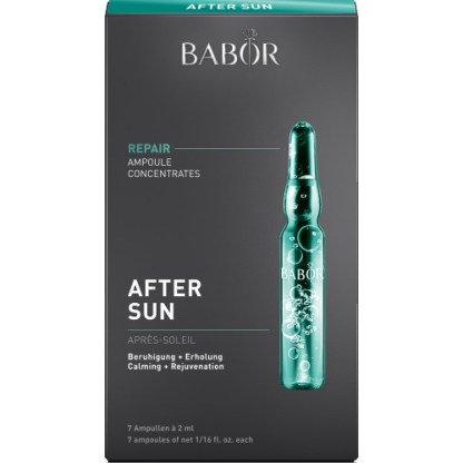 Babor Ampoule Concentrates Repair After Sun