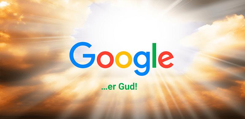 Google er Gud!, foredrag om Online Marketing