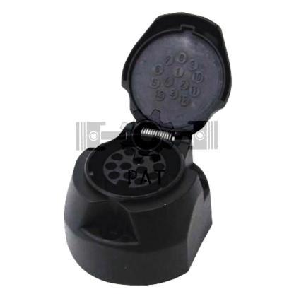 — 50743930 — ISO 11446, kunststof-schroefaansluiting 13-polig —