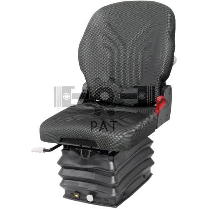 — 2401289043 — ● luchtgeveerde comfortzitting met 12V compressor ● veerweg 80 mm ● in hoogte verstelbaar : 60mm tra —