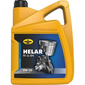 5 L can Kroon-Oil Helar FE LL-04 0W-20