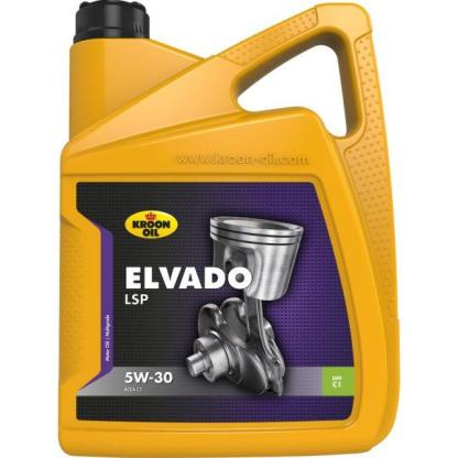 5 L can Kroon-Oil Elvado LSP 5W-30