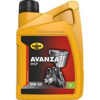 1 L flacon Kroon-Oil Avanza MSP 0W-30