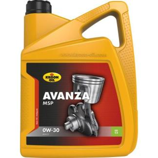 5 L can Kroon-Oil Avanza MSP 0W-30