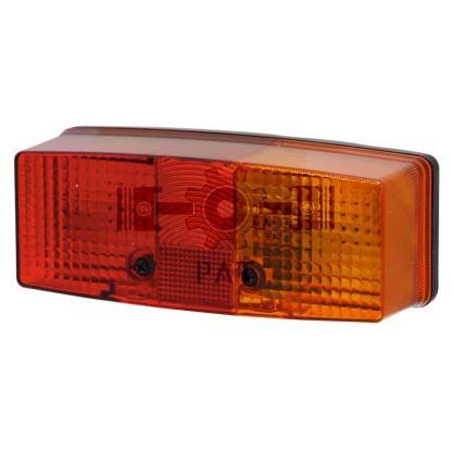 — 4552SD 003184031 — achter-, rem- en knipperlicht, zonder kentekenverlichting, voor horizontale montage, E1 130, E1 5325 —