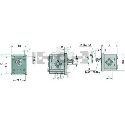 — 87000706 — 119,3 57,7 40 rechts — GRANIT