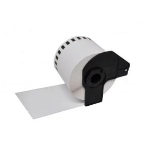 Labelprinter tape DK-11221 23x23mm 1000 labels | Brother P-Touch QL-1050/ QL-1060N/ QL-500A/ QL-560VPYX1/ QL-570/ QL-580N/ QL-650TD/ QL-700/ QL-710W/
