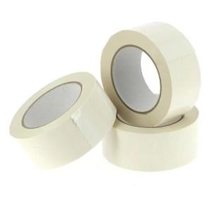 Verpakkingstape PVC wit 66 Meter x 48/50 mm dikte 33u | Inpak tape | plekband.