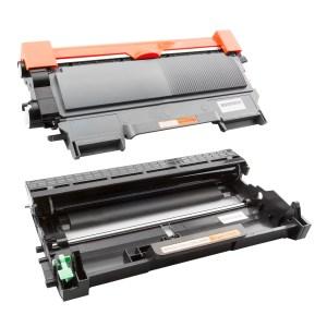 Activejet Tonercartridge / Alternatief  Promo Pakket Brother Toner TN-2220 + DR2200 | Brother DCP-7055/ DCP-7055W/ DCP-7057E/ DCP-7060D/ DCP-7065DN/ D