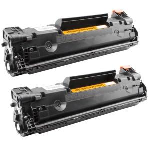 Activejet Toner cartridge / Alternatief multipack HP 2 x CE285A CB435A CB436A
