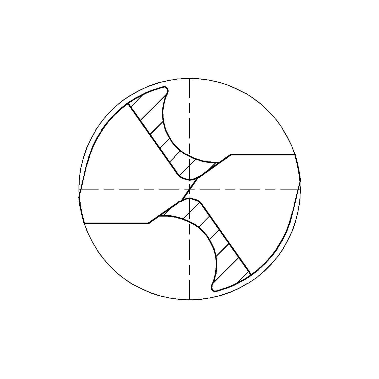Fisch Spiralbohrer Din Hss Fur Metall Mit 1 4 Bit