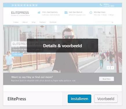 Wordpress thema installeren - Hoe doe ik dat? - Webshops ...