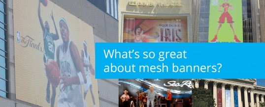 What's So Great About Mesh Banners?