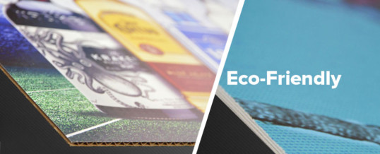 Clean and Green: Creating Eco-Friendly POP Displays using an Environmentally Friendly Process.