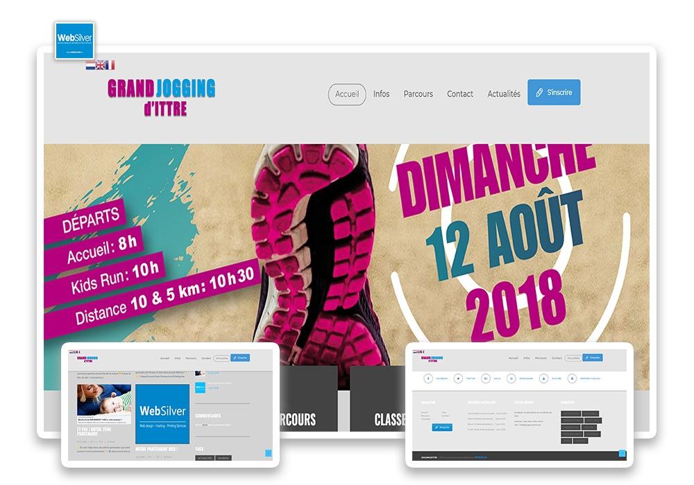 Réalisation Grand Jogging d'Ittre