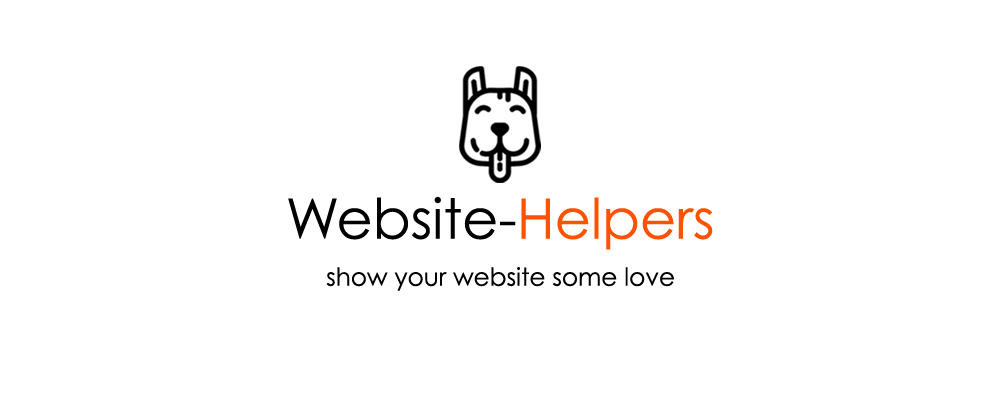 Website-Helpers, show your website some love
