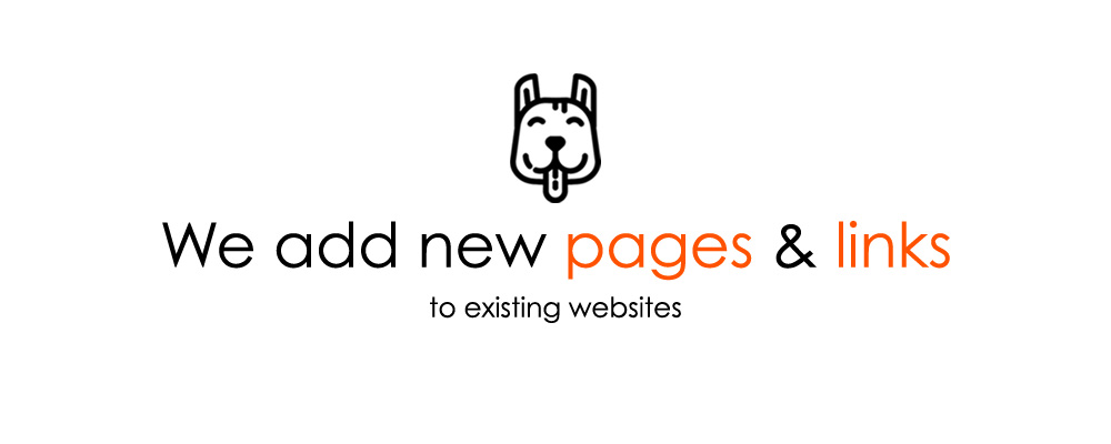 Website-Helpers adds new pages and links to existing websites