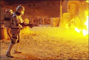 Neil Bishop First Order Flametrooper Star Wars The Force Awakens