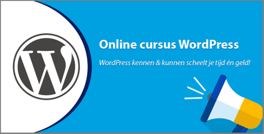 Cursus Wordpress Websitebegeleiding