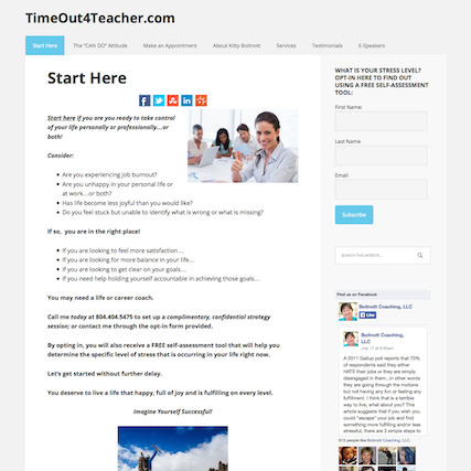 Success Story from a Coach for Teachers