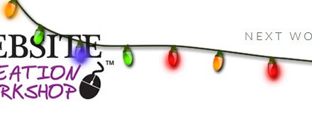 How to Have Christmas Lights or Holiday Snow on Your Website