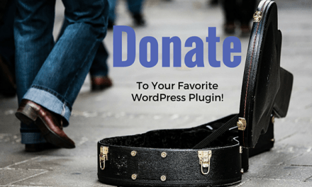 Donate to Your Favorite Plugin