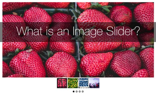 "What is an ""Image Slider"" ?"