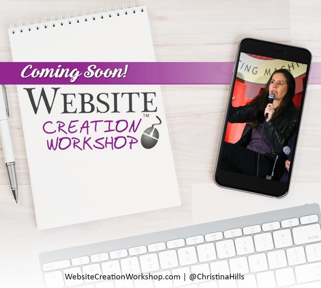 Get on the Notification List for the Spring 2017 Website Creation Workshop!