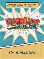 I'm Speaking at WordCamp!