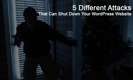 5 Different Hack Attacks That Can Shut Down Your WordPress Website