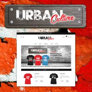 Urban Culture Website Design