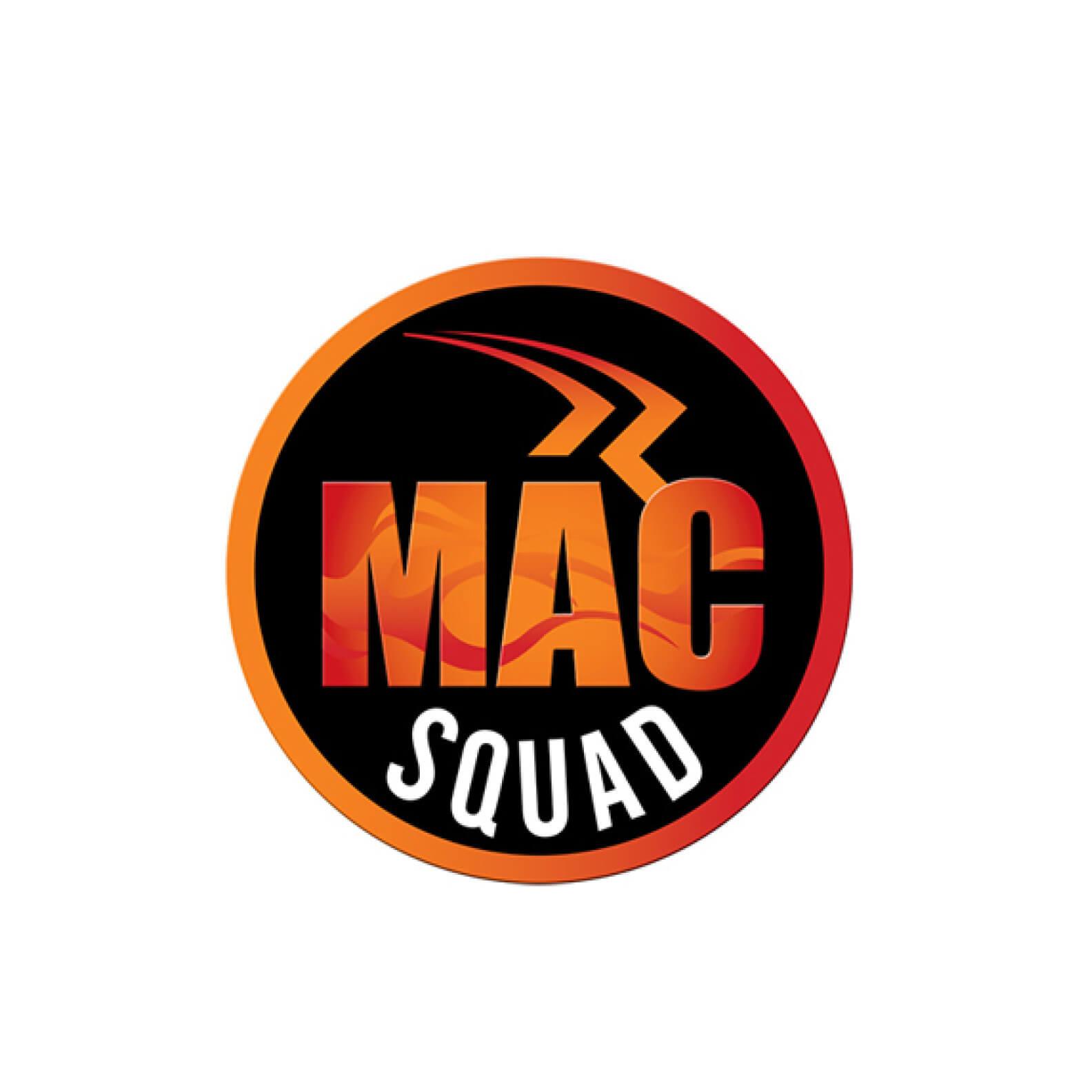 mac squad logo design