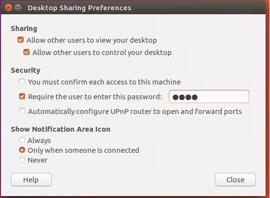 ubuntu enable remote desktop