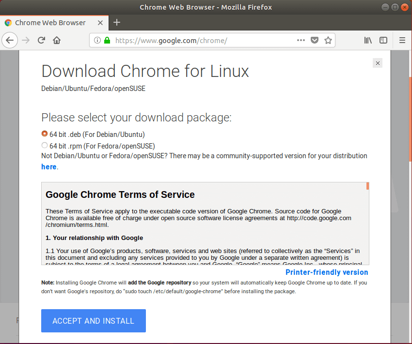 How to Install Google Chrome on Ubuntu | Website for Students